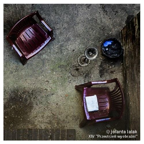 """Jolanta Lalak, """"Kącik palacza"""", II Nagroda"""