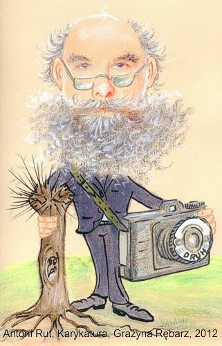 Karykatura Grażyny Rębarz