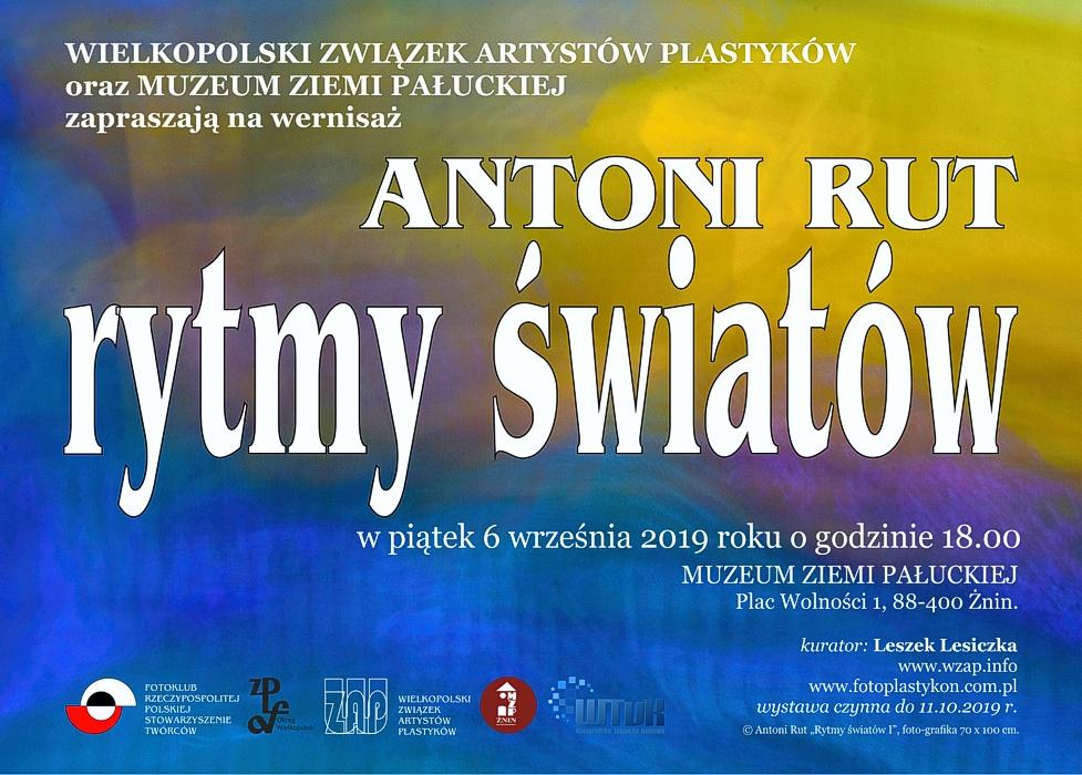 Zaproszenie Antoni Rut Rytmy światów